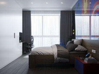 富裕型130平米三室两厅北欧风格卧室图片