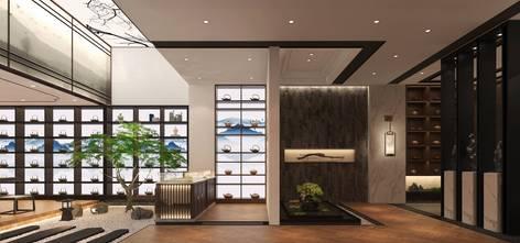 经济型140平米中式风格走廊图片