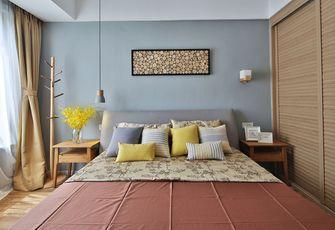 富裕型90平米三室两厅北欧风格卧室图