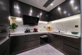 140平米轻奢风格厨房欣赏图