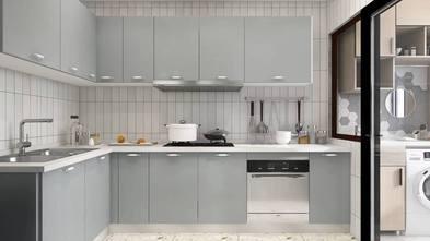 100平米三室两厅法式风格厨房图片
