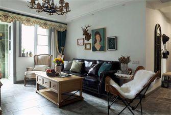 富裕型70平米三室两厅混搭风格客厅效果图