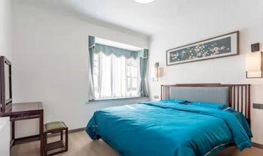 120平米三室两厅中式风格卧室装修案例