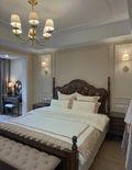 130平米三室两厅美式风格卧室装修图片大全