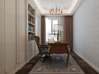 140平米四室两厅欧式风格书房欣赏图