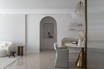 富裕型130平米四室两厅现代简约风格餐厅设计图