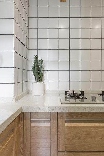 富裕型70平米一室一厅北欧风格厨房效果图