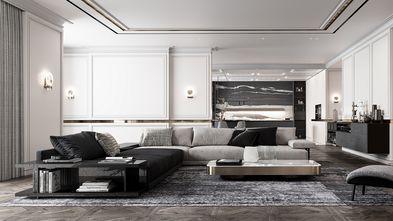 豪华型140平米四室两厅轻奢风格客厅图片大全