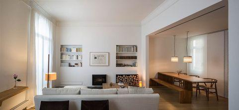 富裕型90平米复式美式风格客厅效果图