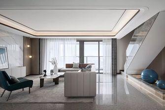 富裕型120平米三室两厅现代简约风格客厅欣赏图