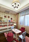 豪华型三室一厅欧式风格青少年房设计图