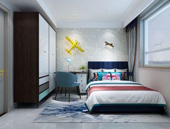 豪华型140平米三室四厅港式风格青少年房装修案例