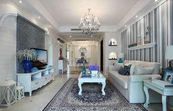 90平米三地中海风格客厅装修图片大全