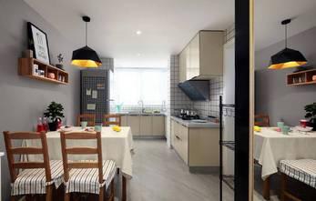 10-15万90平米现代简约风格厨房装修图片大全