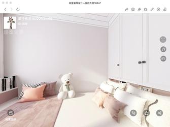 140平米三室三厅现代简约风格卧室图片大全