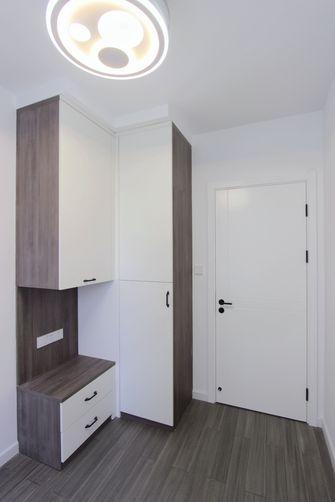 富裕型90平米三室一厅现代简约风格书房设计图