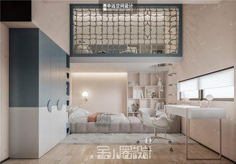 豪华型140平米别墅现代简约风格青少年房效果图