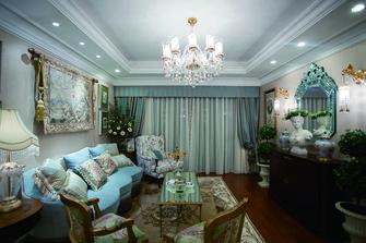 110平米三法式风格客厅欣赏图