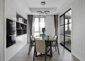 10-15万100平米三室一厅现代简约风格餐厅图片