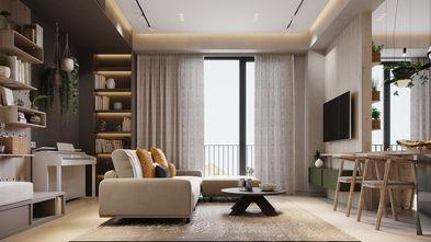 富裕型140平米四日式风格客厅图片大全