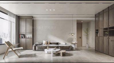 富裕型140平米复式日式风格客厅图