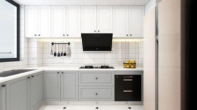 80平米美式风格厨房设计图