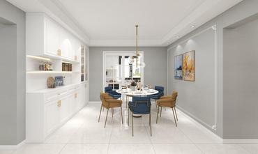富裕型140平米四室两厅欧式风格餐厅装修效果图