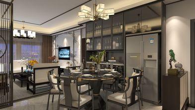 110平米三中式风格餐厅设计图