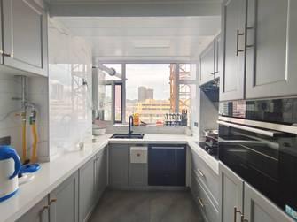 140平米三室两厅法式风格厨房设计图