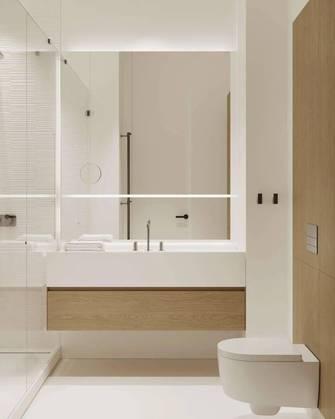15-20万60平米一室一厅日式风格卫生间设计图
