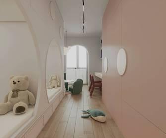 15-20万60平米法式风格青少年房装修案例