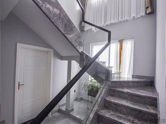 豪华型140平米复式现代简约风格楼梯间装修图片大全