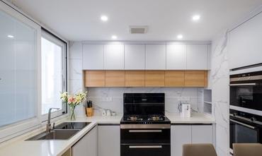 10-15万110平米三北欧风格厨房欣赏图