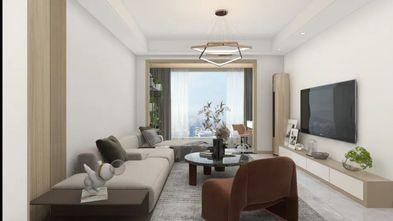 富裕型100平米现代简约风格客厅图片