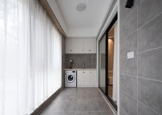 富裕型90平米三室两厅美式风格阳台欣赏图