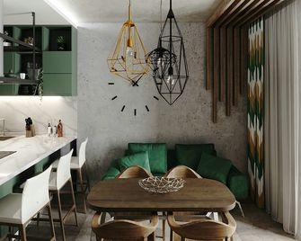 富裕型100平米三室两厅北欧风格客厅装修效果图