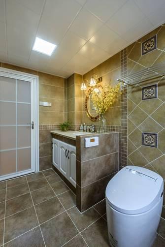 富裕型140平米四室一厅地中海风格卫生间设计图