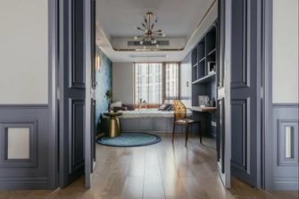 20万以上130平米三室两厅美式风格书房图