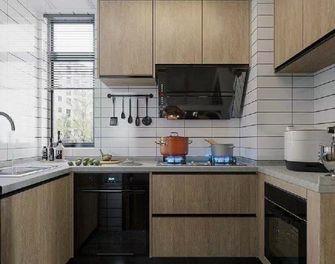 130平米三室两厅日式风格厨房图片大全