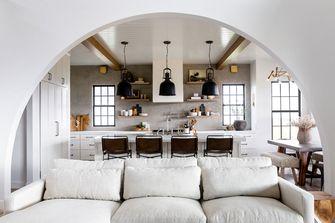5-10万50平米公寓工业风风格客厅装修案例
