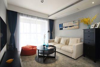 富裕型70平米北欧风格客厅设计图