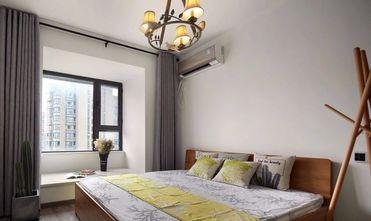 90平米三工业风风格卧室设计图