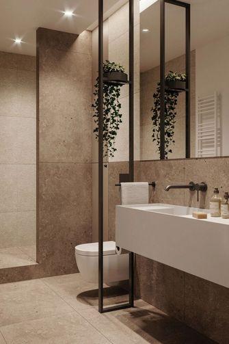 10-15万60平米一居室现代简约风格卫生间设计图
