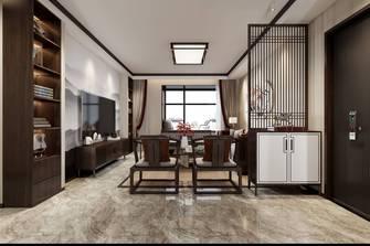 豪华型130平米三室两厅中式风格走廊图片
