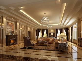 20万以上140平米别墅新古典风格客厅图片大全
