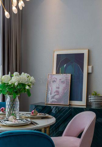 经济型50平米一室一厅轻奢风格餐厅装修案例