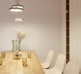 10-15万130平米四室两厅现代简约风格餐厅欣赏图