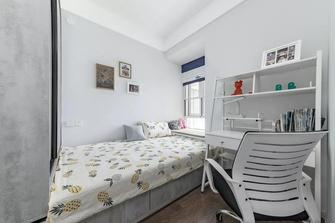 80平米三室两厅北欧风格青少年房装修效果图