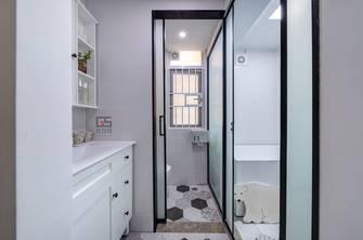 60平米三室一厅现代简约风格卫生间装修图片大全
