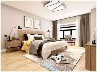 10-15万100平米四室一厅北欧风格卧室装修案例